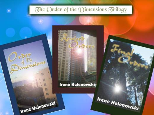 Irene order of the dimensions trilogy