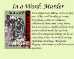 In A Word: Murder thanks Tag Your Teaser